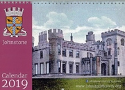 2019 calendar cover; color photo of The Castle at its largest extent